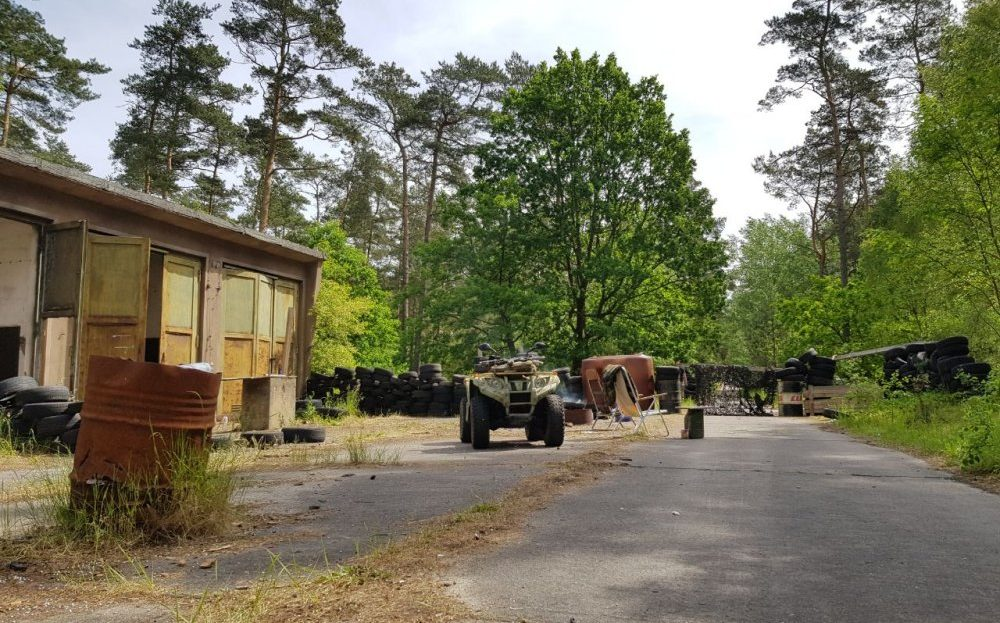 LARP Gelände Blackfield Outdoor Adventures - Basis