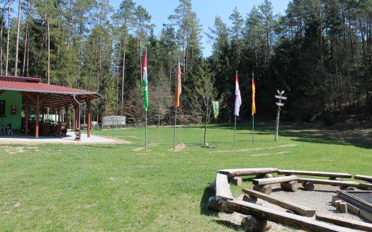 LARP Gelände Zeltplatz Waldesruh - Feuerstelle