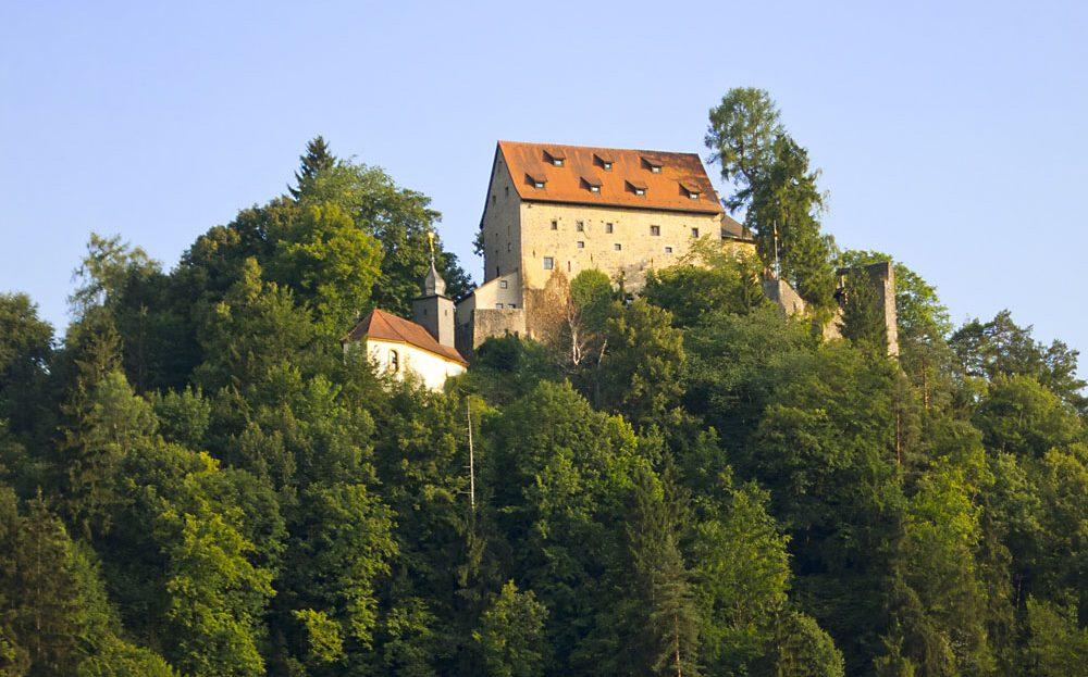 LARP Location Burg Rabeneck - Aussenansicht Totale