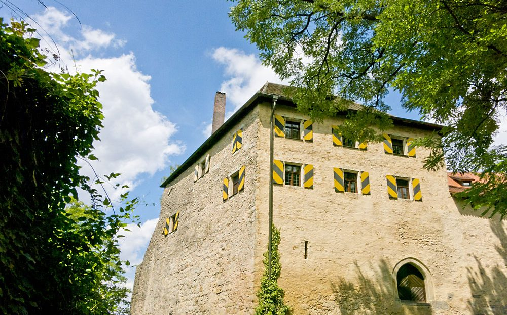 LARP Location Burg Rabeneck - Aussenansicht Turm