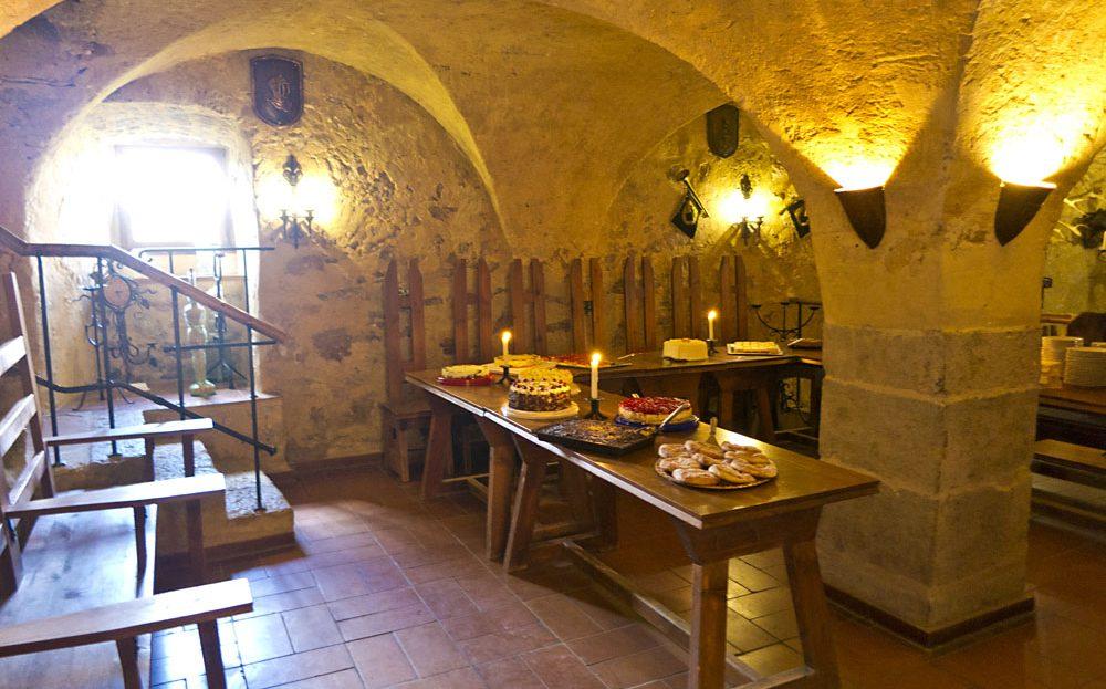 LARP Location Burg Rabeneck - Gewölbe 2