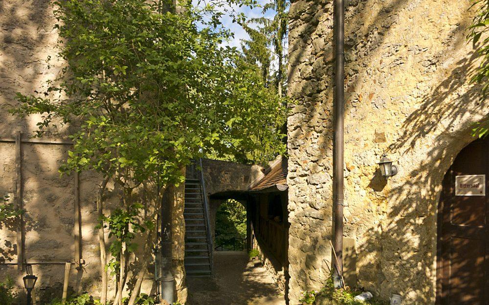 LARP Location Burg Rabeneck - Innenhof