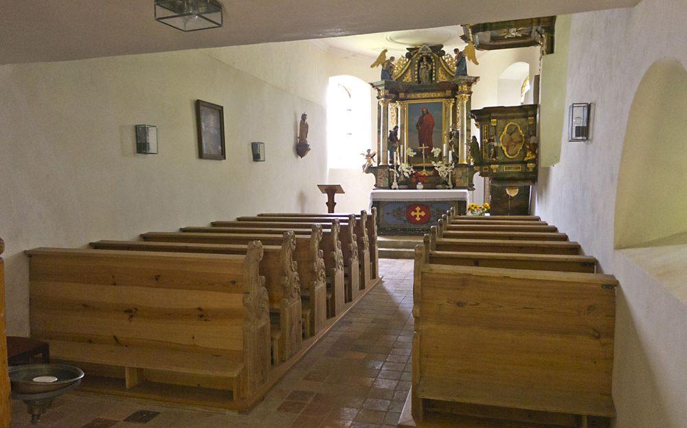 LARP Location Burg Rabeneck - Kapelle