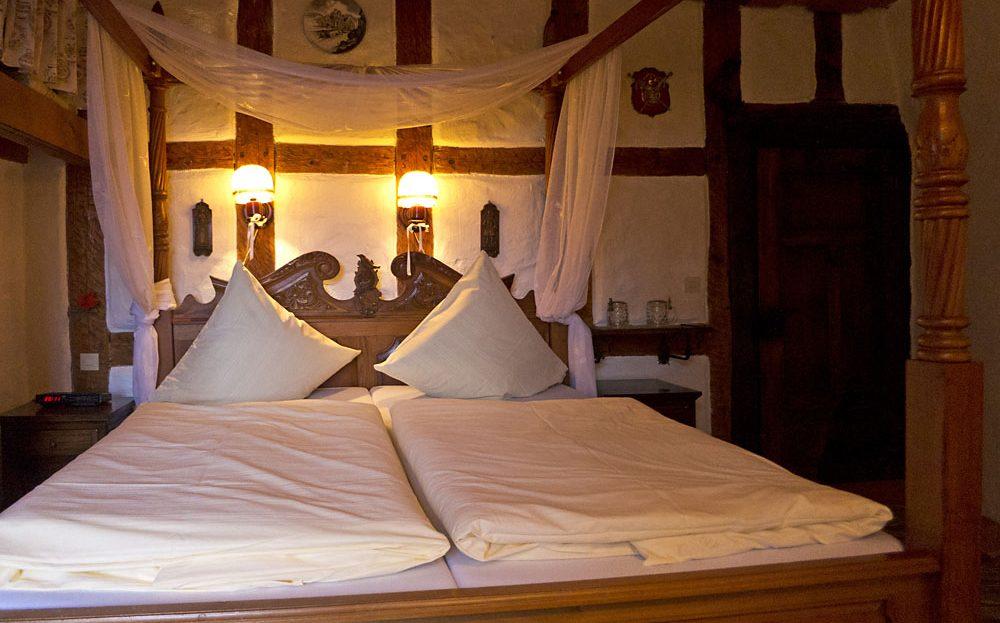 Burg Rabeneck Zimmer Doppelzimmer DZ