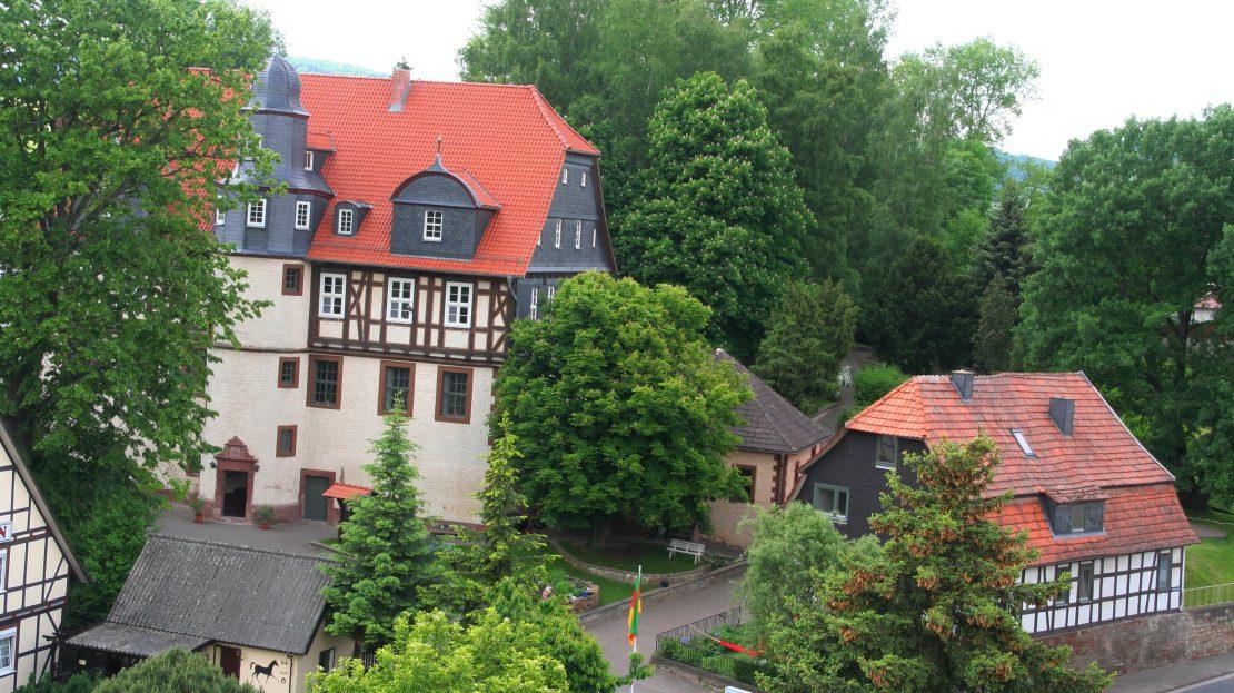 LARP Location Schloss Martinfeld - Aussenansicht 1
