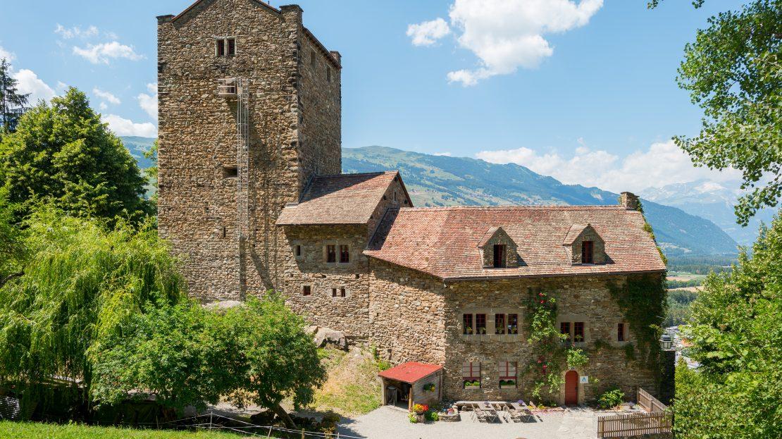 LARP Location Burg Ehrenfels - Aussenansicht vorne
