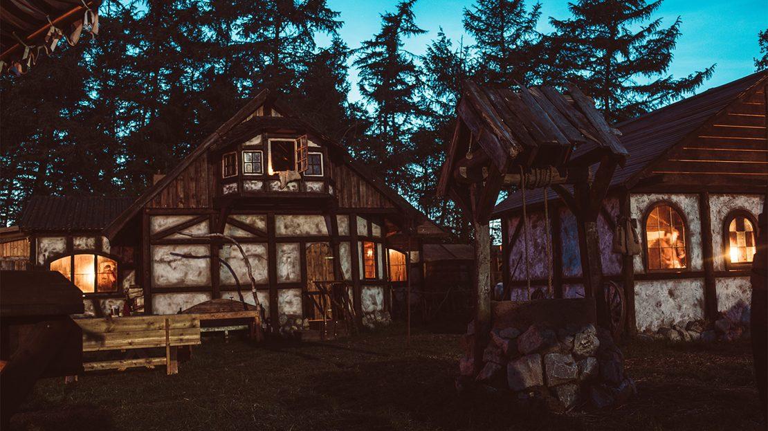 LARP-Dorf Bogenwald Nacht
