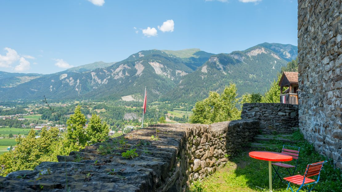 LARP Location Burg Ehrenfels - Kleine Terrasse