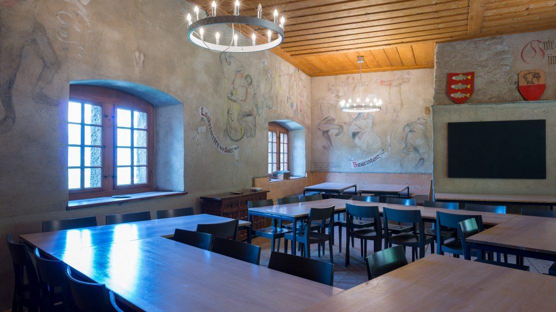 LARP Location Burg Ehrenfels - Speisesaal