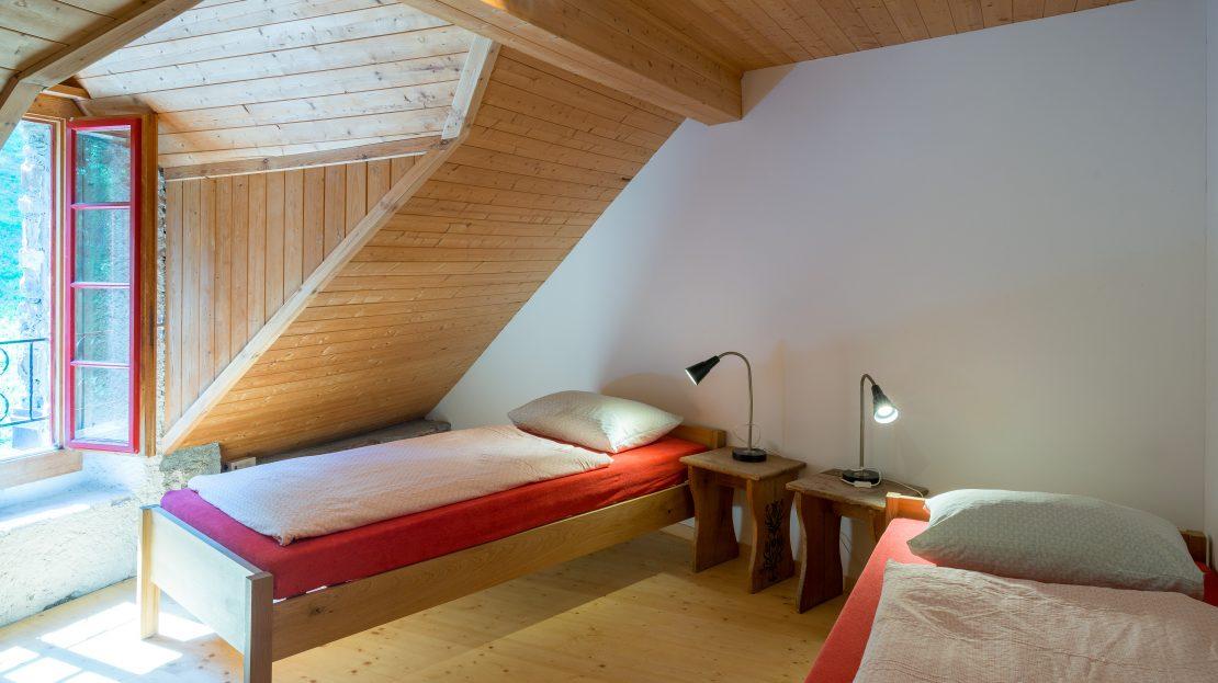 LARP Location Burg Ehrenfels - Zweibettzimmer
