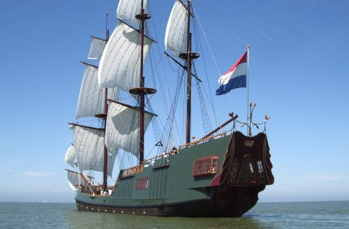 LARP Location Schiff Soeverein - Aussenansicht