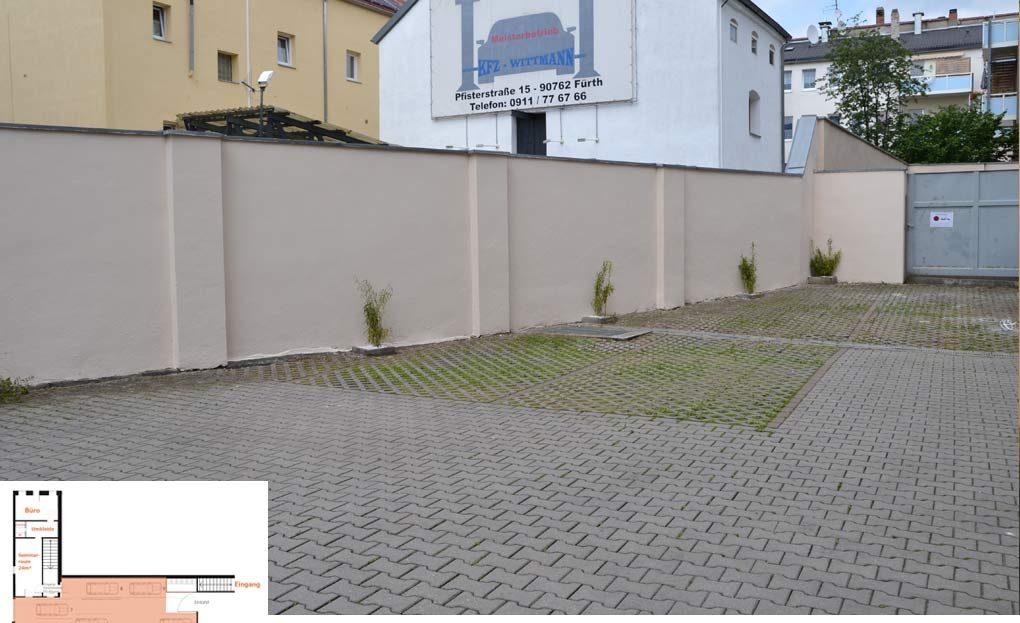 LARP Location Die Matilde - Parkplätze
