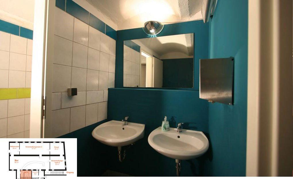 LARP Location Die Matilde - Toiletten