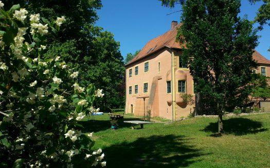 LARP Location Wasserburg Turow - Aussenansicht 1