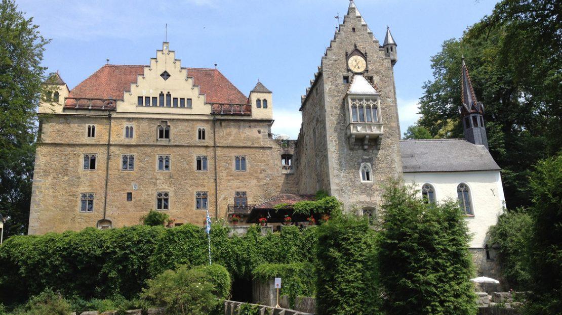 LARP Location Schloss Egg - Aussenansicht
