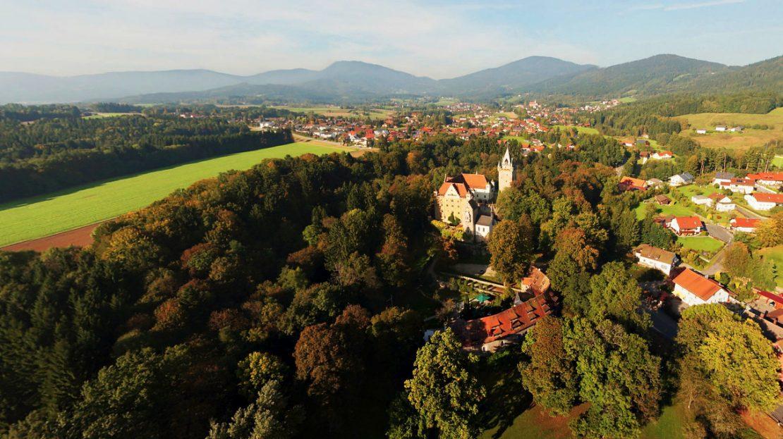 LARP Location Schloss Egg - Panorama