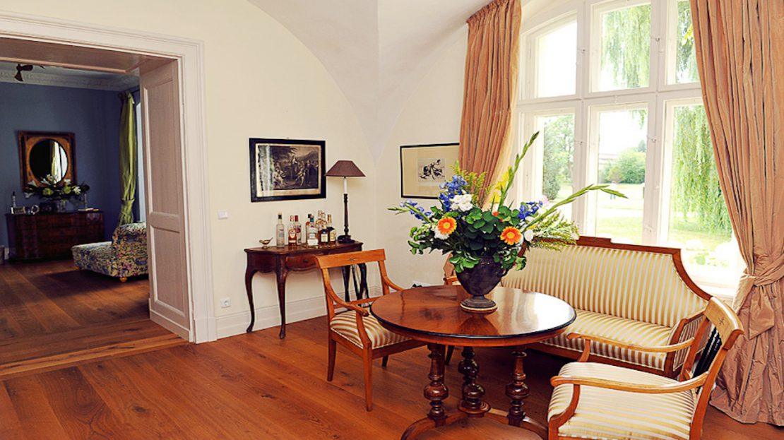 LARP Location Gutshaus Penzlin - Gästezimmer