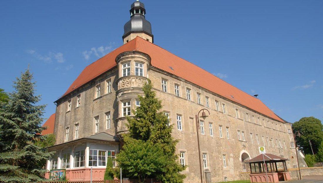 LARP Location Schloss Schochwitz - Aussenansicht