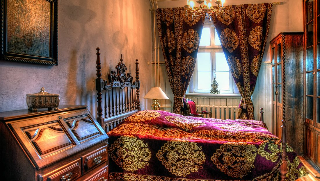 LARP Location Schloss Schochwitz - Opal Suite